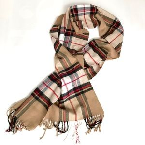 Accessories - Super Soft Classic Plaid Lightweight Scarf